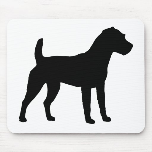 Jack Russell Terrier Silhouette Mouse Pad