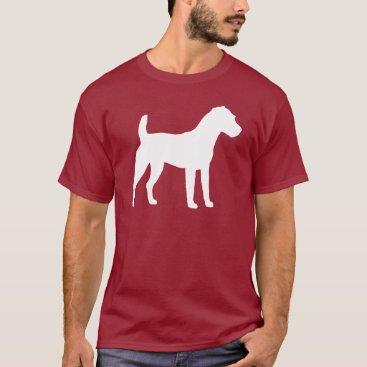 dogsandhorses Jack Russell Terrier Silhouette T-Shirt