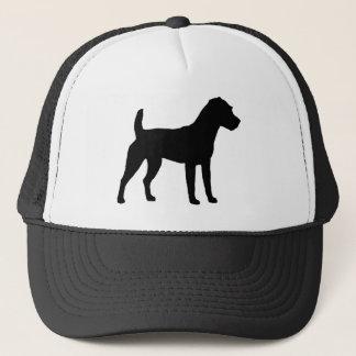 Jack Russell Terrier Silhouette Trucker Hat