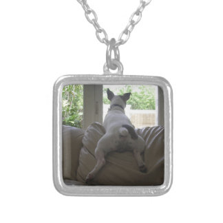 Jack Russell Terrier Silver Plated Necklace