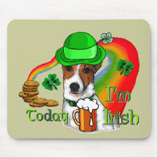 Jack Russell Terrier St Pats Mouse Pad