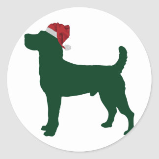Jack Russell Terrier Round Stickers