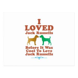 Jack Russell Terrier Postal