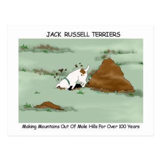 Jack Russell Terrier Tarjetas Postales