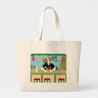 Jack Russell Terrier Tiki Bar Bags