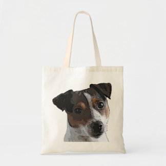 Jack Russell Terrier tote Canvas Bag