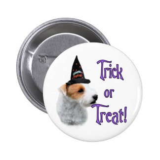Jack Russell Terrier Trick Button