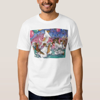 Jack Russell Terriers at a party T-shirt