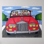 Jack Russell Terriers Joy Ride Poster