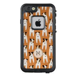 LifeProof® FRĒ® for iPhone® 5/5S/SE Case with Jack Russell Terrier Phone Cases design