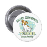 Jack Russell Terror Button