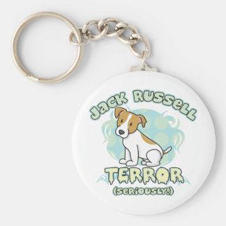 Jack Russell Terror Keychain