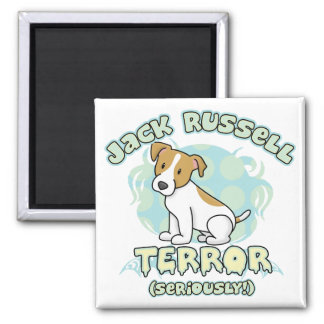 Jack Russell Terror Magnet