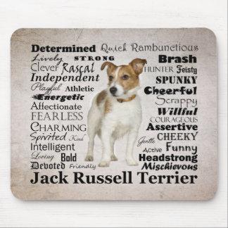 Jack Russell Traits Mousepad