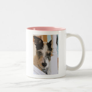 JACK RUSSELL WATCHES Two-Tone COFFEE MUG