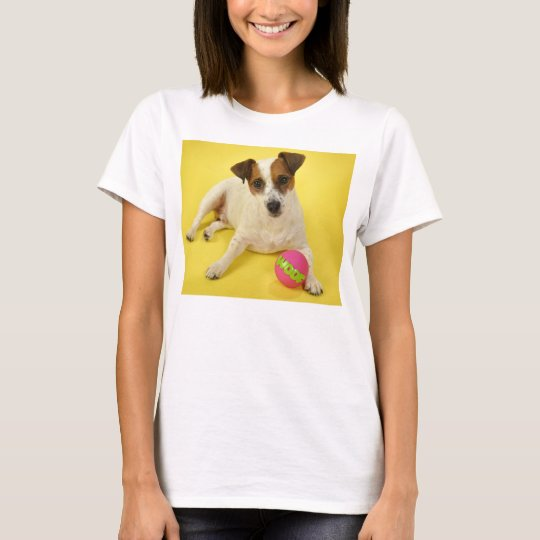 Jack Russell With Ball T-Shirt