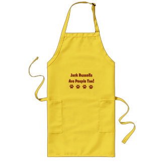 Jack Russells Are People Too Apron