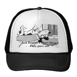 Jack Russells Don't Sleep Trucker Hat