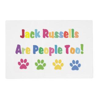 Jack Russells es gente también Tapete Individual