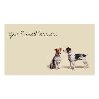 Jack Russells Tarjetas De Visita
