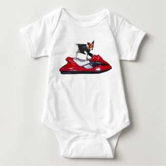 Jack Russsell Terrier baby shirt