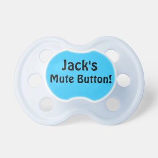 Jack s Mute Button Pacifiers
