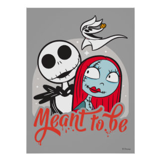Jack & Sally | Meant to Be Poster