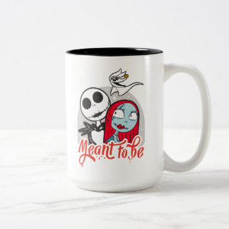 Jack & Sally | Meant to Be Two-Tone Coffee Mug