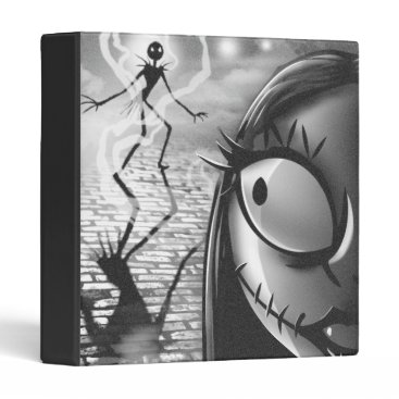 Halloween Themed Jack & Sally | Misfit Love 3 Ring Binder