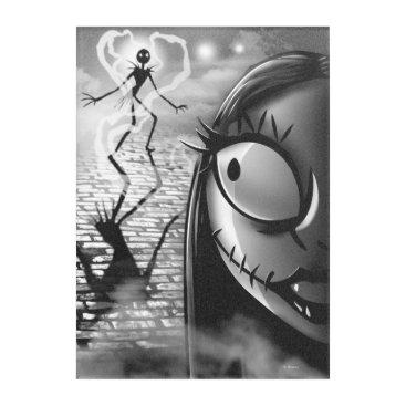 Halloween Themed Jack & Sally | Misfit Love Acrylic Wall Art