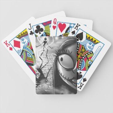 Halloween Themed Jack & Sally | Misfit Love Bicycle Playing Cards