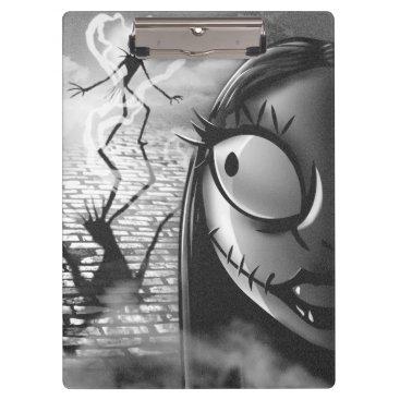 Halloween Themed Jack & Sally | Misfit Love Clipboard