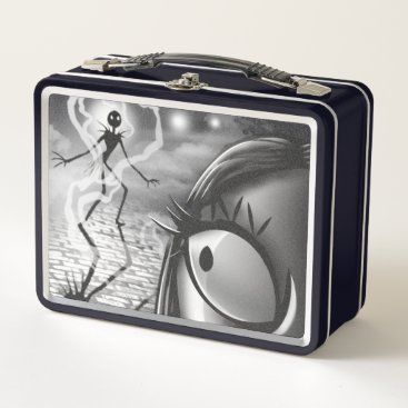 Halloween Themed Jack & Sally | Misfit Love Metal Lunch Box