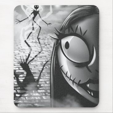 Halloween Themed Jack & Sally | Misfit Love Mouse Pad