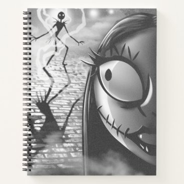 Halloween Themed Jack & Sally | Misfit Love Notebook