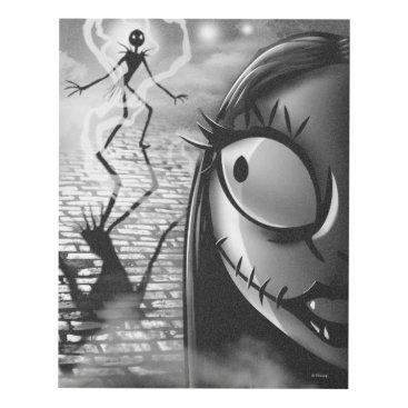 Halloween Themed Jack & Sally | Misfit Love Panel Wall Art