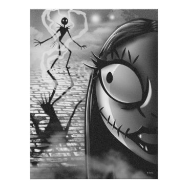 Halloween Themed Jack & Sally | Misfit Love Poster