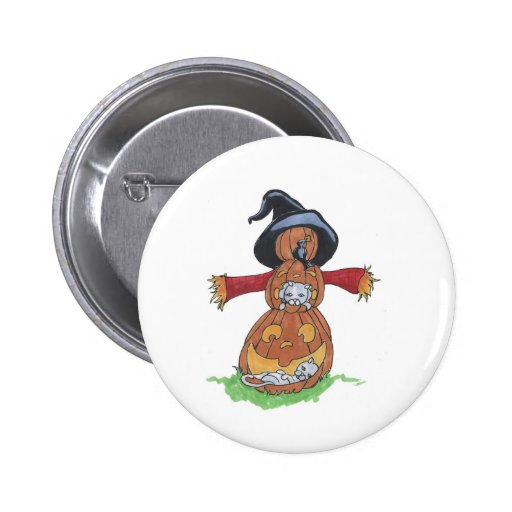 Jack Scarecrow Buttons