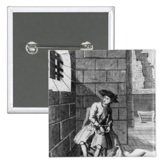 Jack Shepperd en la prisión de Newgate, 1724 Pins