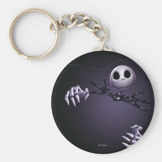 Jack Skellington 1 Basic Round Button Keychain