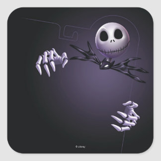 Jack Skellington 1 Square Sticker