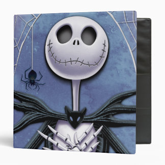 Jack Skellington 2 3 Ring Binder