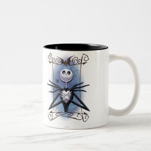 Jack Skellington 2 Coffee Mugs