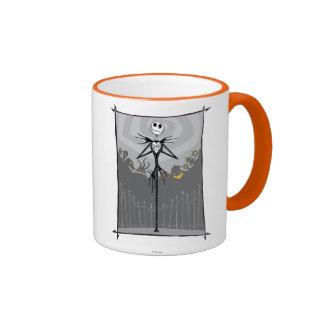 Jack Skellington 3 Ringer Coffee Mug