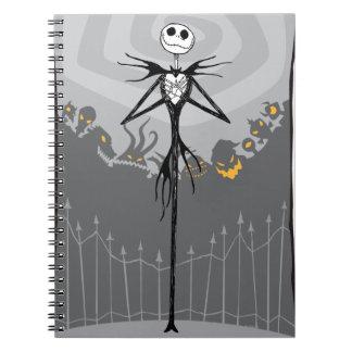 Jack Skellington 3 Notebooks