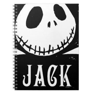 Jack Skellington 4 Note Books
