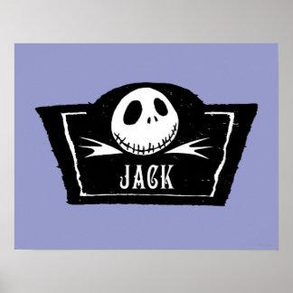 Jack Skellington 4 Posters