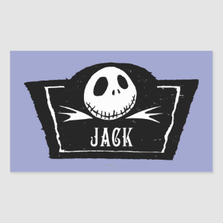 Jack Skellington 4 Rectangular Sticker