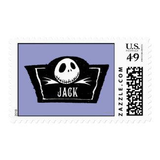 Jack Skellington 4 Sello Postal