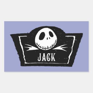 Jack Skellington 4 Stickers